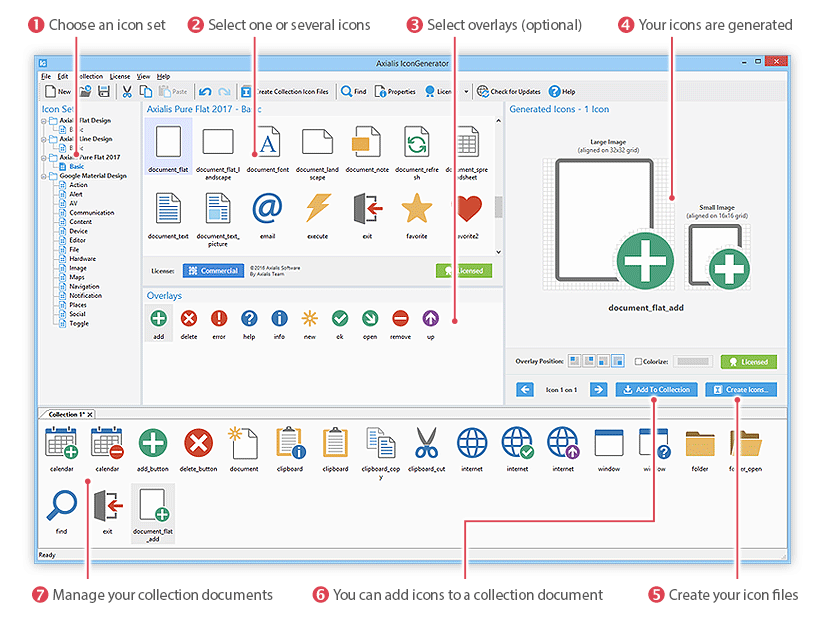 Windows 7 Axialis IconGenerator 1.4 full