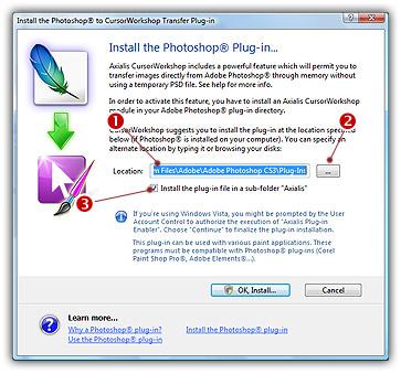 Tutorial - Use CursorWorkshop with Adobe Photoshop - Axialis Software