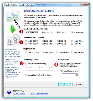 how to create a cur file